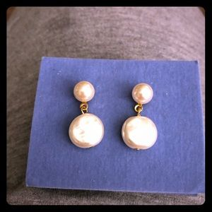 New Double Pearl Earrings from Avon - Artificial
